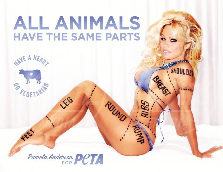 Pamela Anderson - Los Angeles - 15-07-2010 - Helen Flanagan nuda contro la crudeltà verso gli animali
