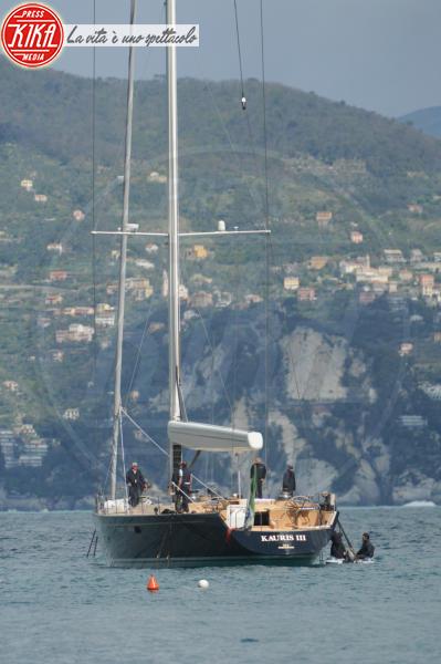 Marco Tronchetti Provera, Giovanni Tronchetti Provera - Portofino - 09-04-2012 - Le star migrano con lo yacht