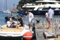 Lorenzo Cochis, Geronimo, Leonardo Apache, Ignazio La Russa - Portofino - 05-08-2011 - Le star migrano con lo yacht