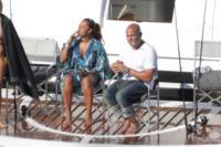 Stephen Belafonte, Mel B - 21-10-2011 - Le star migrano con lo yacht