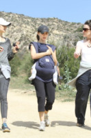 Aleph Millepied, Natalie Portman - Los Angeles - 11-08-2014 - Tieniti  in  forma   con   l'hiking!
