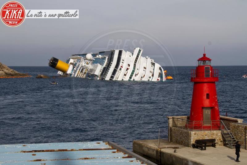 Costa Concordia - Isola del Giglio - 19-01-2012 - Costa Concordia, cinque anni fa la tragedia all'Isola del Giglio