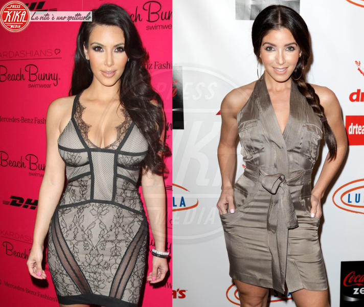 Melissa Molinaro, Kim Kardashian - Hollywood - 28-11-2014 - Separati alla nascita: le star e i loro cloni