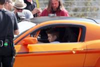 Justin Bieber - Los Angeles - 21-04-2012 - Bieber al volante, pericolo e sputo costante