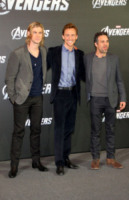 Tom Hiddleston, Chris Hemsworth, Mark Ruffalo - Berlino - 23-04-2012 - Superman e Batman insieme nel 2015, come il sequel di Avengers