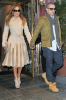 Casper Smart, Jennifer Lopez - New York - 30-01-2012 - Jennifer Lopez è single anche per la legge