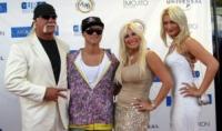 Brooke, Linda, Nick, Hulk Hogan - Miami - 12-09-2006 - Hulk Hogan fa causa all'ex moglie Linda per diffamazione