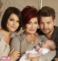 Pearl Osbourne, Lisa Stelly, Jack Osbourne, Sharon Osbourne - Los Angeles - 07-05-2012 - Jack Osbourne aspetta il secondo figlio