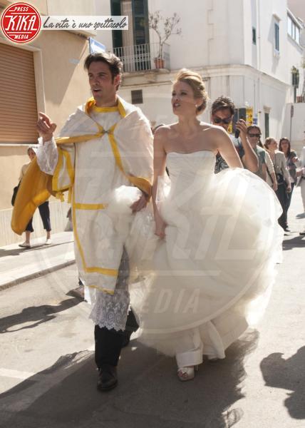 Kimberly Matula, Luca Calvani - Bari - 09-05-2012 - A San Valentino, il matrimonio è per sempre... almeno al cinema!