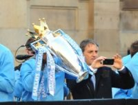 Roberto Mancini - Manchester - 14-05-2012 - Roberto Mancini-Manchester City: game over