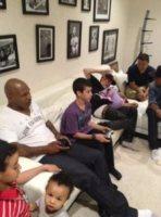 Justin Bieber, Mike Tyson - Los Angeles - 28-05-2012 - Genitori da record, Eddie Murphy arriva a quota 10!