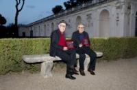 Paolo Taviani, Vittorio Taviani - Roma - 04-06-2012 - Lutto nel mondo del cinema: morto il regista Vittorio Taviani