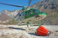 FORESTALE ELICOTTERISTI BELLUNO - Belluno - 03-10-2007 - Gli elicotteristi della forestale entrano in azione