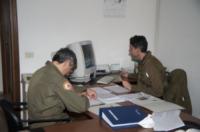 FORESTALE ELICOTTERO missione - Belluno - 01-03-2012 - Gli elicotteristi della forestale entrano in azione