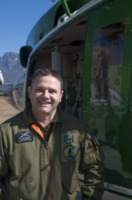 FORESTALE ELICOTTERO Sita Enrico - Belluno - 01-03-2012 - Gli elicotteristi della forestale entrano in azione