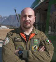 Federico Dintignana, Elicotteristi Forestale di Belluno - Belluno - 01-03-2012 - Gli elicotteristi della forestale entrano in azione