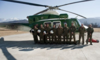 FORESTALE ELICOTTERISTI - La squadra - Belluno - 01-03-2012 - Gli elicotteristi della forestale entrano in azione