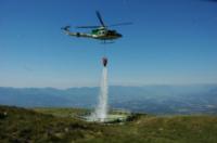 FORESTALE ELICOTTERISTI BELLUNO - Belluno - 21-07-2006 - Gli elicotteristi della forestale entrano in azione