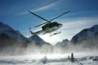 FORESTALE ELICOTTERO neve - Belluno - 02-01-2009 - Gli elicotteristi della forestale entrano in azione