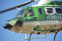FORESTALE ELICOTTERISTI BELLUNO - Belluno - 10-11-2011 - Gli elicotteristi della forestale entrano in azione