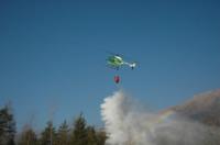 FORESTALE ELICOTTERISTI BELLUNO - Belluno - 02-12-2006 - Gli elicotteristi della forestale entrano in azione