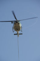 FORESTALE ELICOTTERISTI BELLUNO - Belluno - 11-11-2011 - Gli elicotteristi della forestale entrano in azione
