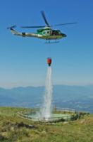 NO TITLE - 03-10-2007 - Gli elicotteristi della forestale entrano in azione