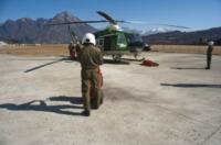 FORESTALE ELICOTTERISTI - Belluno - 01-03-2012 - Gli elicotteristi della forestale entrano in azione