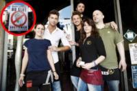 Riccardo Manzi, Martina D'Ulivo, Marco Loda, Marco Tavazzani, Lu - Pavia - 14-06-2012 - No Slot Pavia: anche il sindaco Cattaneo contro la dipendenza