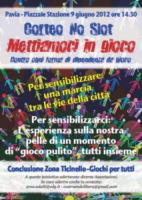 Corteo No Slot - No Slot Pavia: anche il sindaco Cattaneo contro la dipendenza
