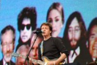 Paul McCartney - Londra - 02-07-2005 - Paul McCartney compie 70 anni