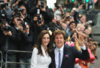 Nancy Shevell, Paul McCartney - Londra - 09-10-2011 - Paul McCartney compie 70 anni