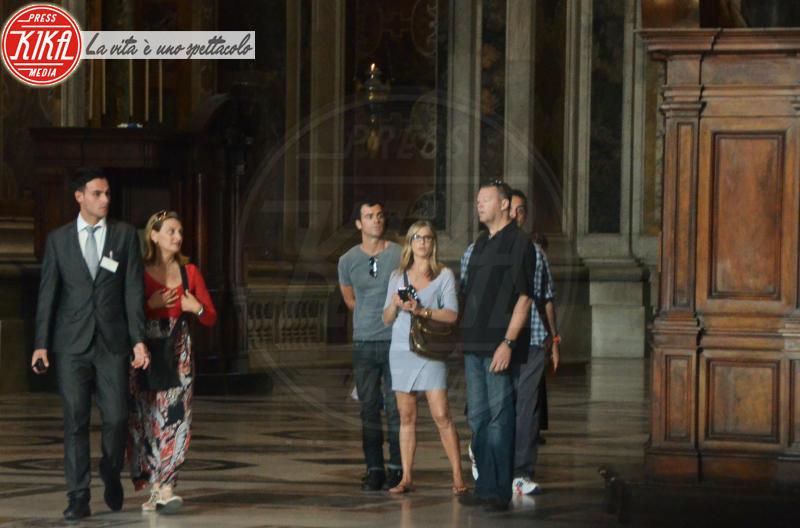 Justin Theroux, Jennifer Aniston - Roma - 15-06-2012 - Estate 2019: i vip turisti abituali in Italia