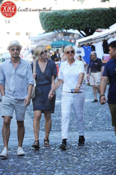Ellen DeGeneres, Portia De Rossi - Portofino - 16-06-2012 - Trump e gli altri: i vip in italia per una vacanza 5 stelle