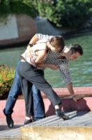 Filippo Timi, Claudia Pandolfi - Venezia - 06-09-2011 - Sabrina Impacciatore & C., quando lo scivolone è epico