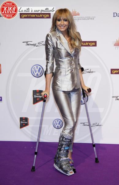 Monrose Mandy Capristo - Berlino - 24-03-2011 - Bende, cerotti, gessi, la dura vita della star