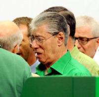 Umberto Bossi - Assago - 01-07-2012 - Star come noi: anche i ricchi piangono