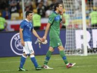 Antonio Di Natale, Gianluigi Buffon - Kiev - 02-07-2012 - Gigi Buffon confessa:
