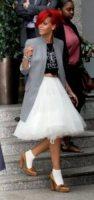 Rihanna - Londra - 04-10-2010 - Il ritorno del calzino: chic or choc?