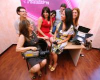 Katia Aiello, Emanuela Alvaro, Stefania Fiumanò, Anna Maria Implatini - 02-07-2012 - Fimmina TV: la Locride si tinge di rosa