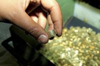 Verifica validitˆ monete - Roma - 04-07-2012 - Zecca di Stato: viaggio nel luogo in cui nascono i nostri soldi