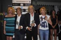 Enrico Vanzina, Carlo Vanzina, Trudie Styler, Virginia Madsen - Ischia - 10-07-2012 - Francesca Neri e Zucchero premiati all'Ischia Global Fest