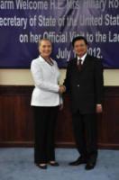 Thongsing Thammavong, Hillary Clinton - 11-07-2012 - Hillary Clinton: