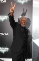 Morgan Freeman - New York - 16-07-2012 - La mano sinistra di Morgan Freeman è paralizzata