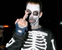 Travis Barker - Hollywood - 30-10-2006 - Ad Halloween le star si vestono così