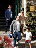 Kal-El, Alice Kim, Nicolas Cage - Ravello - 18-07-2012 - Chiamiamolo strano: i buffi nomi dei pargoli vip