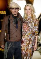 Amber Heard, Johnny Depp - Parigi - 08-11-2011 - Johnny Depp e Kate Moss di nuovo insieme per Paul McCartney