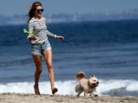 Rosie Huntington-Whiteley - Los Angeles - 03-06-2012 - Le vacanze delle star sono anche vacanze da cani!