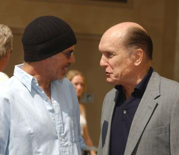 Robert Duvall, Billy Bob Thornton - Hollywood - 18-09-2003 - Robert Duvall recitera' per Billy Bob Thornton