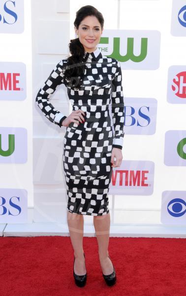 Janet Montgomery - Beverly Hills - 29-07-2012 - Sul red carpet, l'optical è… l'optimum!